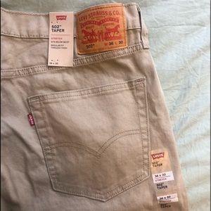 Levi's 502 Taper Fit Men's Pants